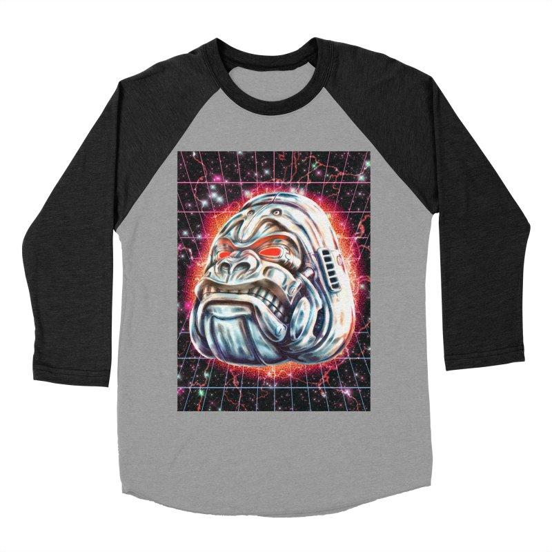 Electric Gorilla Women's Baseball Triblend Longsleeve T-Shirt by villainmazk's Artist Shop