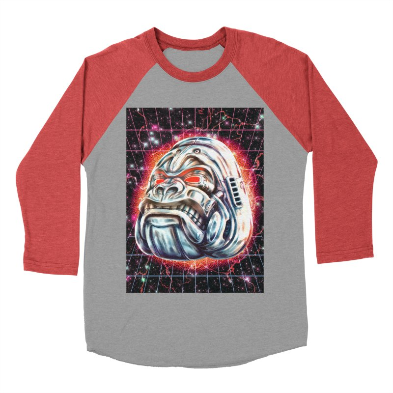 Electric Gorilla Men's Longsleeve T-Shirt by villainmazk's Artist Shop