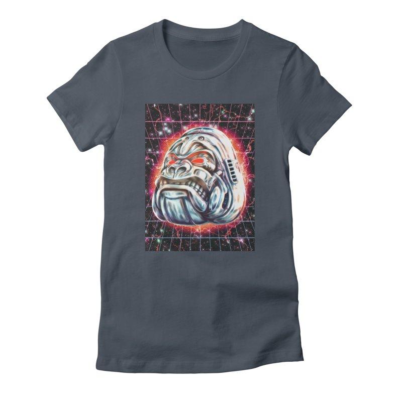 Electric Gorilla Women's T-Shirt by villainmazk's Artist Shop