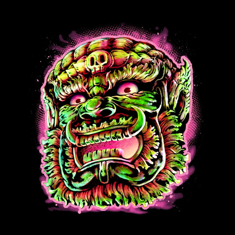 Yak Orc Kids T-Shirt by villainmazk's Artist Shop
