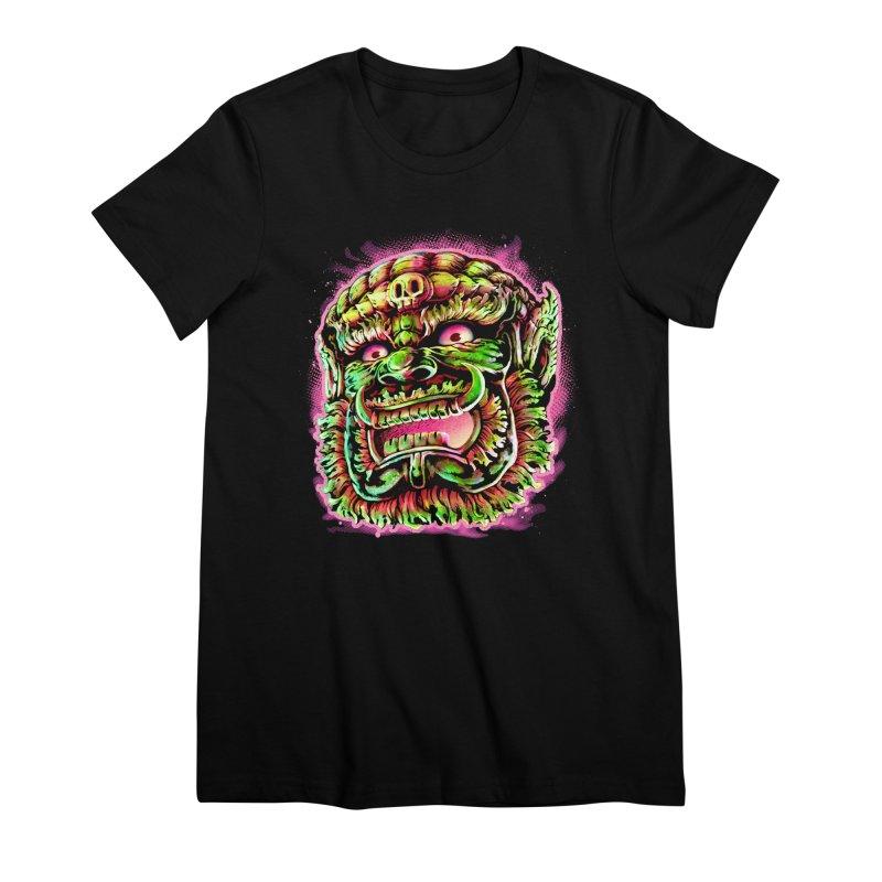 Yak Orc Women's Premium T-Shirt by villainmazk's Artist Shop