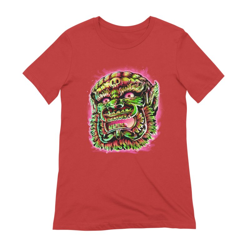 Yak Orc Women's Extra Soft T-Shirt by villainmazk's Artist Shop