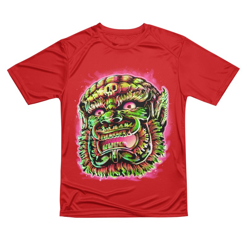 Yak Orc Women's Performance Unisex T-Shirt by villainmazk's Artist Shop