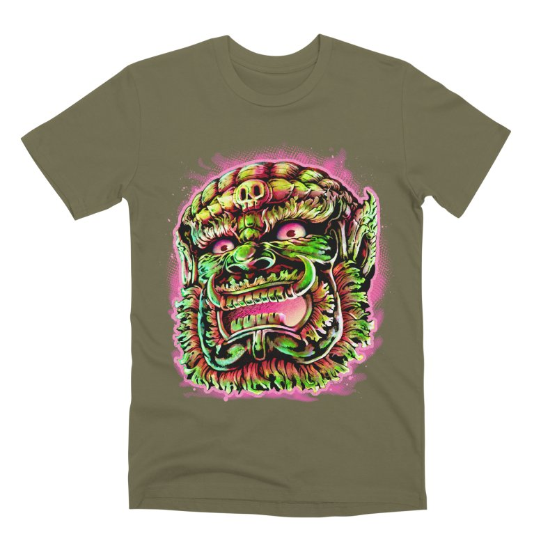 Yak Orc Men's Premium T-Shirt by villainmazk's Artist Shop