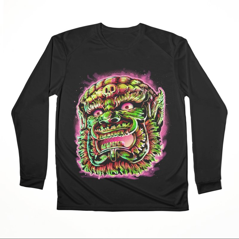 Yak Orc Men's Performance Longsleeve T-Shirt by villainmazk's Artist Shop