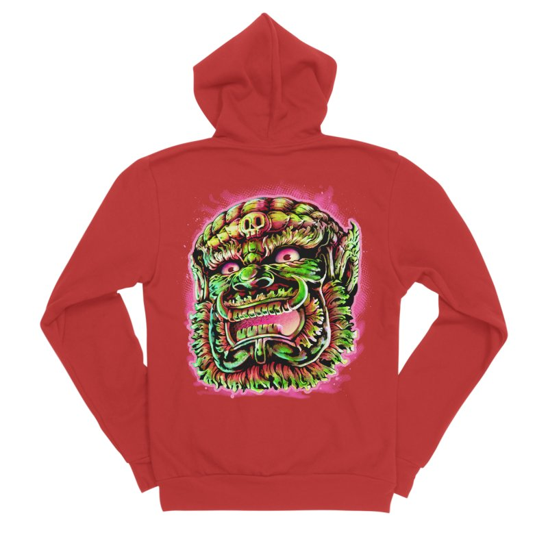 Yak Orc Women's Zip-Up Hoody by villainmazk's Artist Shop