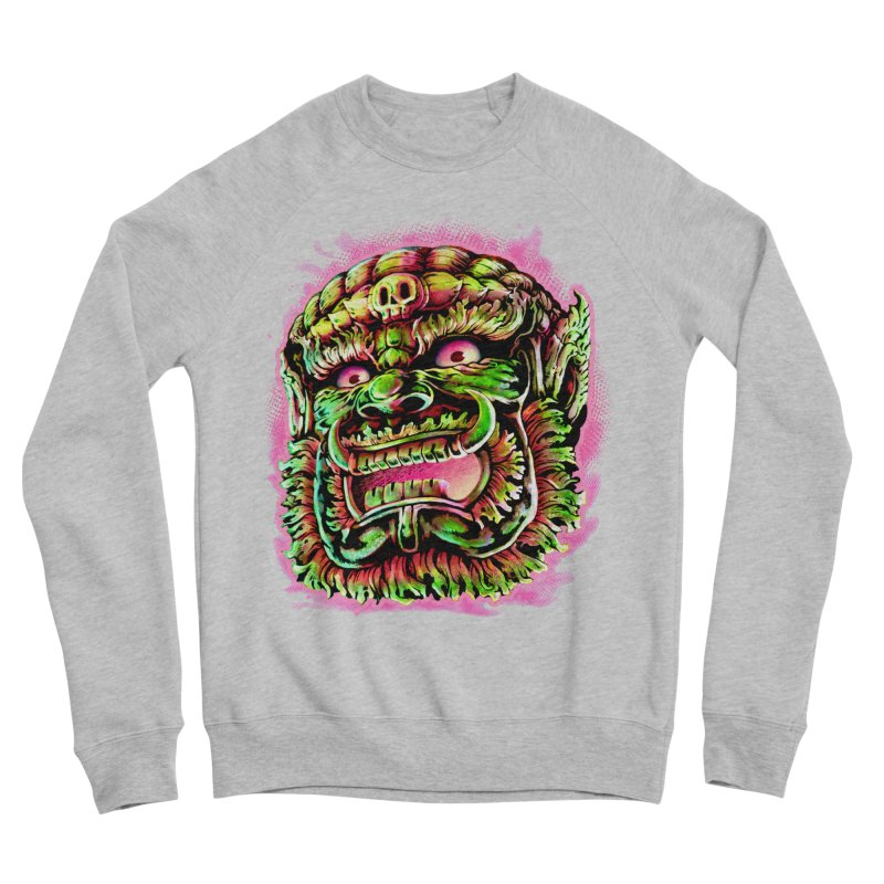 Yak Orc Men's Sponge Fleece Sweatshirt by villainmazk's Artist Shop