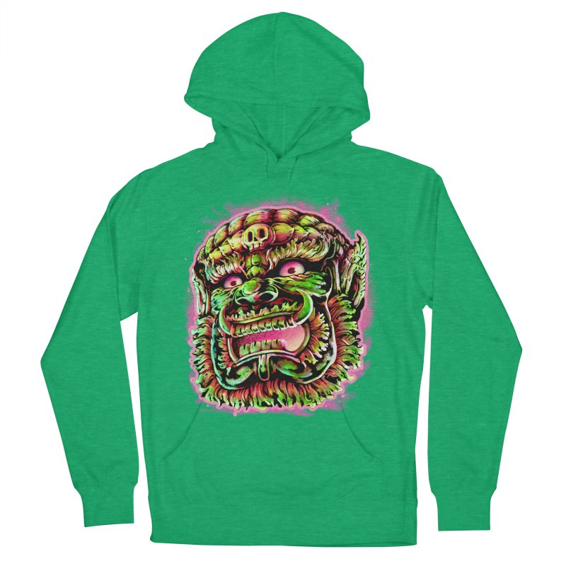 Yak Orc Women's French Terry Pullover Hoody by villainmazk's Artist Shop