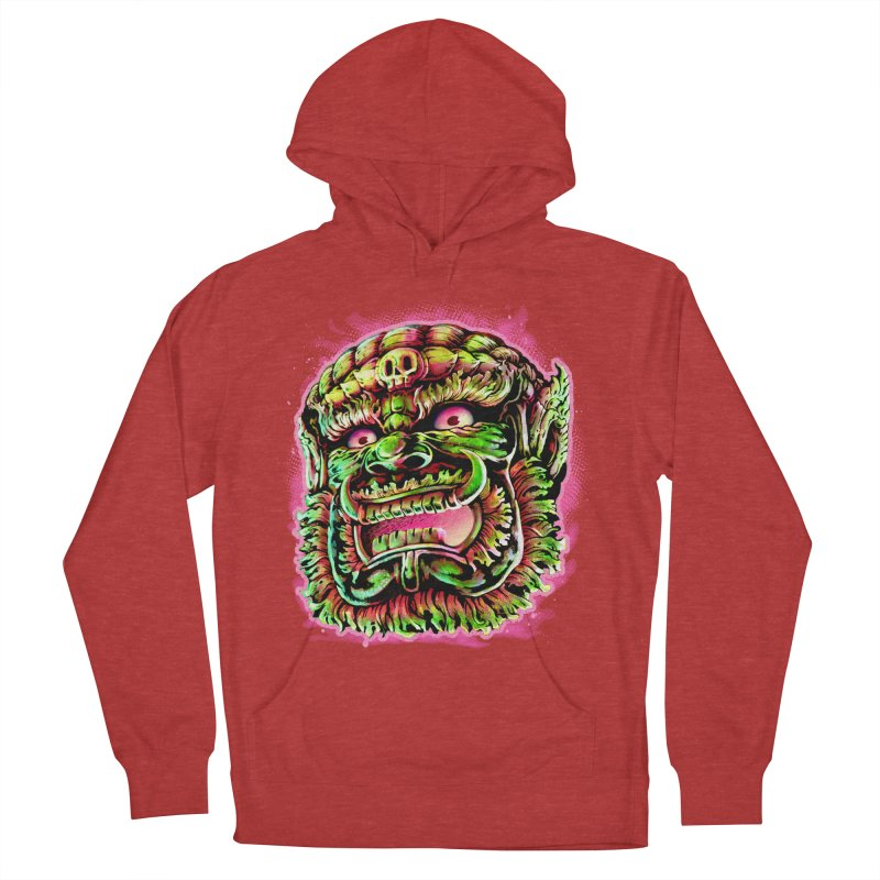 Yak Orc Men's French Terry Pullover Hoody by villainmazk's Artist Shop