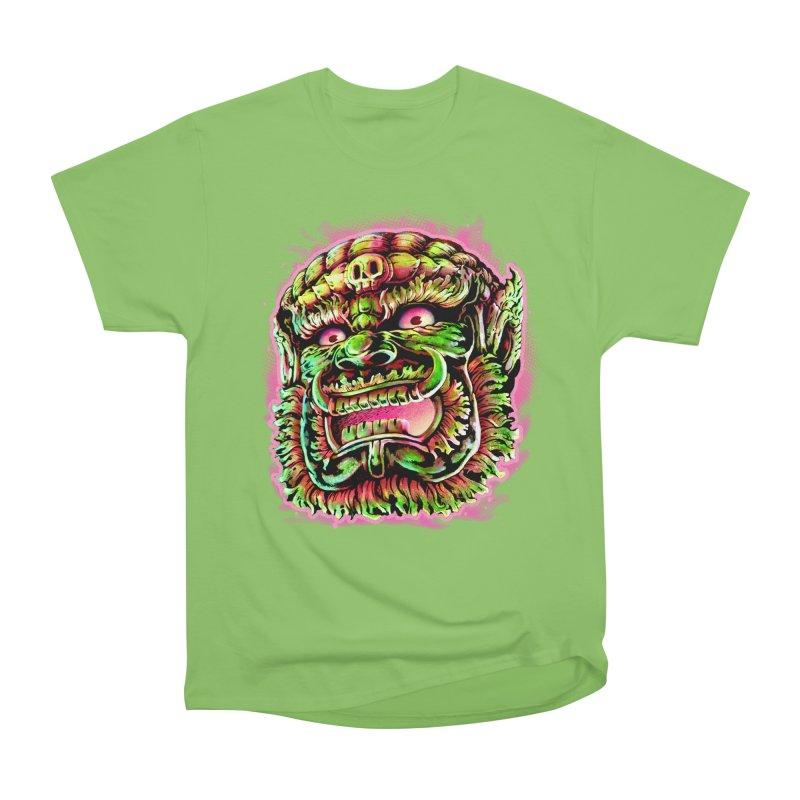Yak Orc Men's Heavyweight T-Shirt by villainmazk's Artist Shop