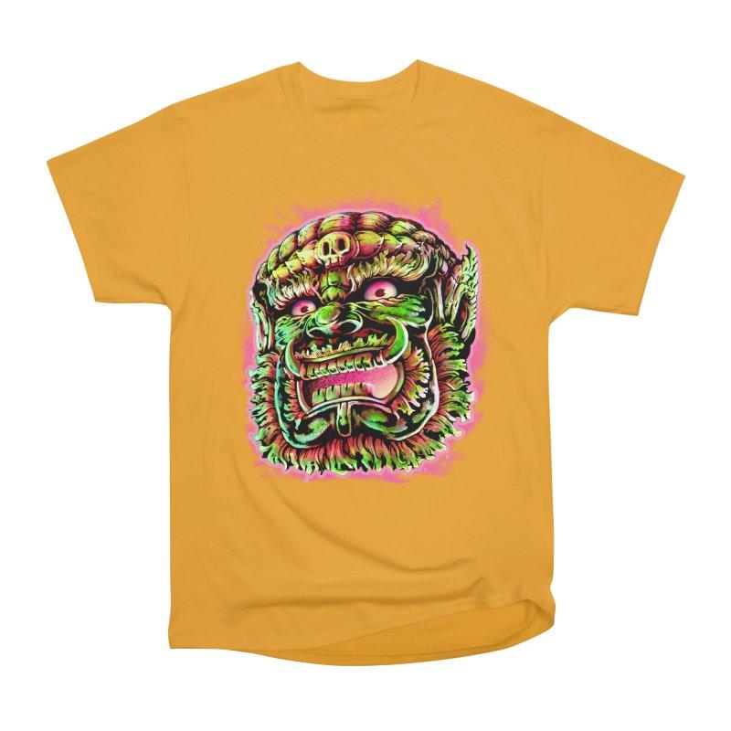 Yak Orc Women's Heavyweight Unisex T-Shirt by villainmazk's Artist Shop