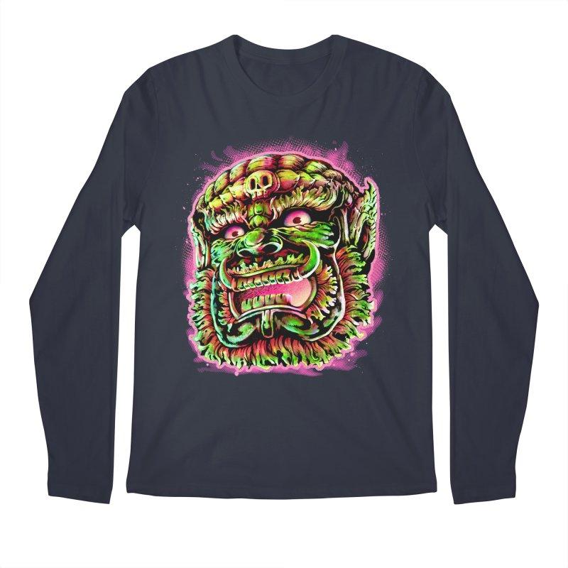 Yak Orc Men's Regular Longsleeve T-Shirt by villainmazk's Artist Shop