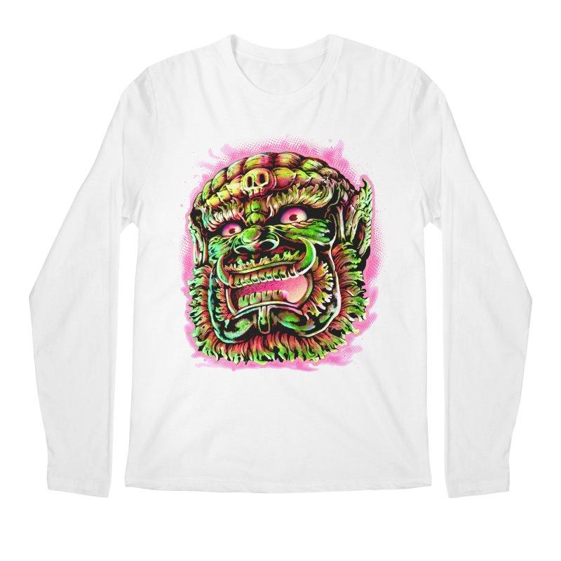 Yak Orc Men's Longsleeve T-Shirt by villainmazk's Artist Shop