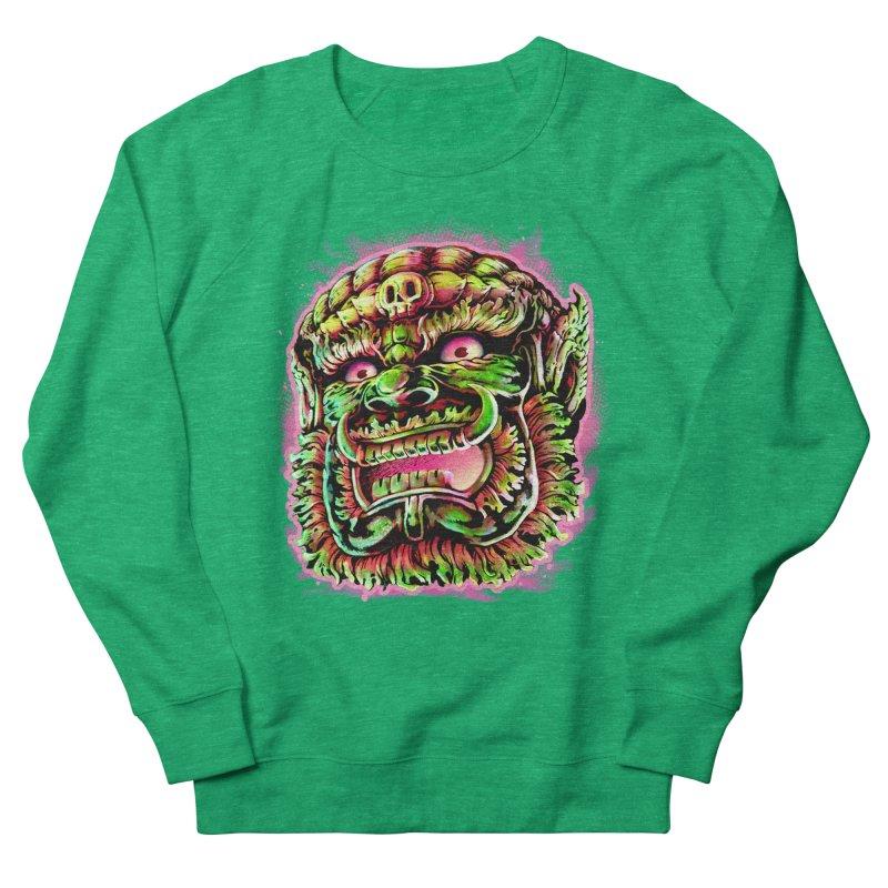 Yak Orc Women's French Terry Sweatshirt by villainmazk's Artist Shop