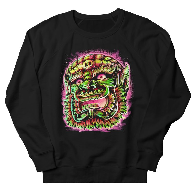 Yak Orc Women's French Terry Sweatshirt by villainmazk's Artist Shop