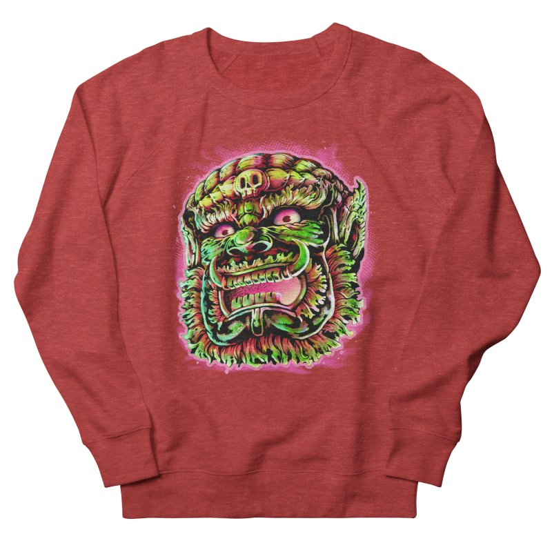 Yak Orc Men's French Terry Sweatshirt by villainmazk's Artist Shop