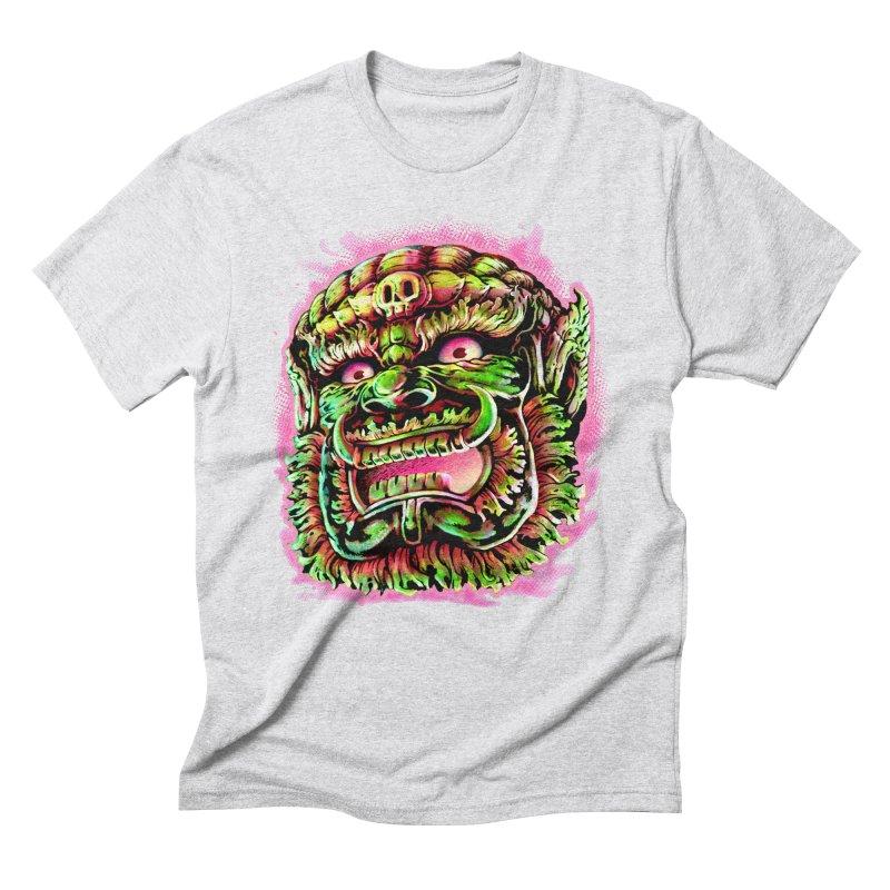 Yak Orc Men's Triblend T-Shirt by villainmazk's Artist Shop