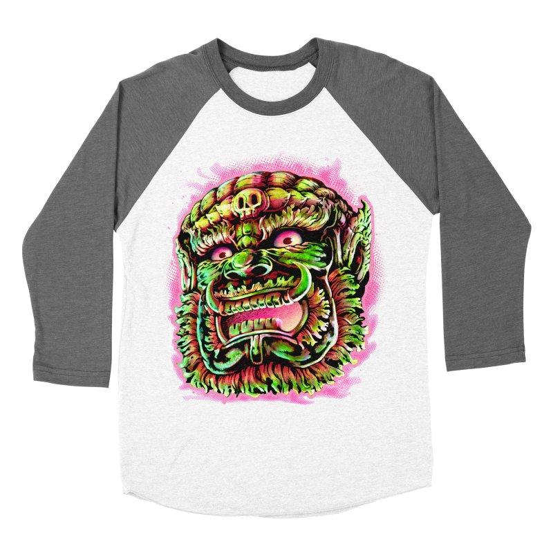 Yak Orc Women's Longsleeve T-Shirt by villainmazk's Artist Shop