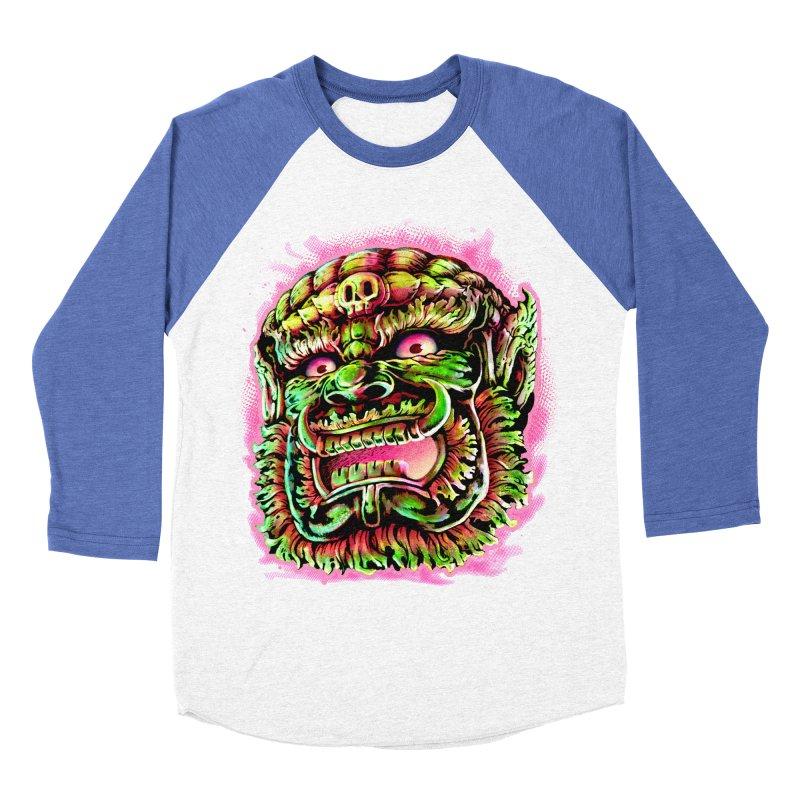 Yak Orc Men's Baseball Triblend Longsleeve T-Shirt by villainmazk's Artist Shop