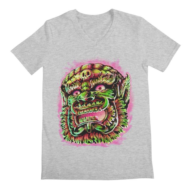 Yak Orc Men's V-Neck by villainmazk's Artist Shop