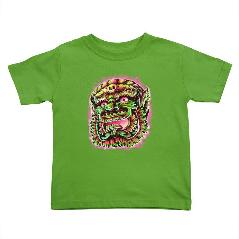 Yak Orc Kids Toddler T-Shirt by villainmazk's Artist Shop