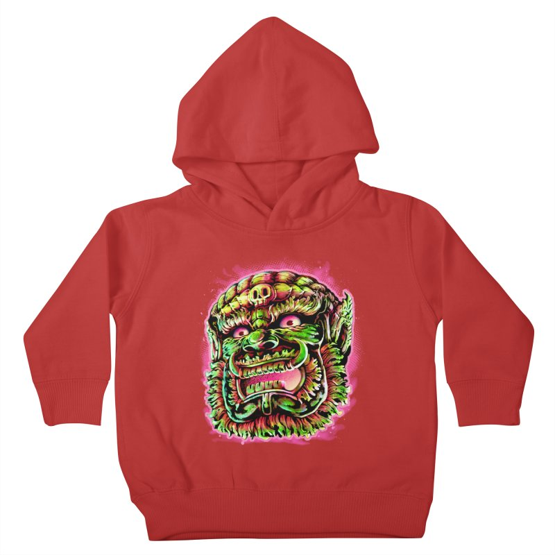 Yak Orc Kids Toddler Pullover Hoody by villainmazk's Artist Shop