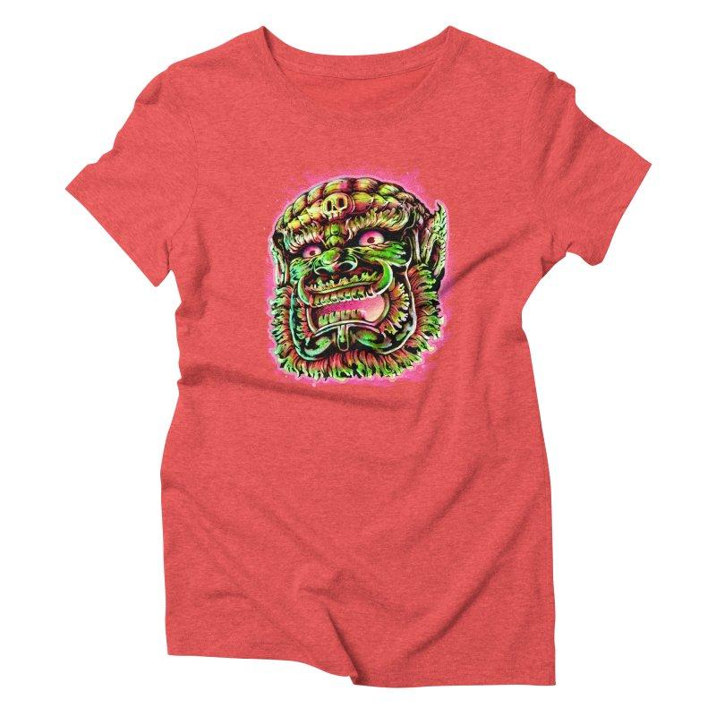 Yak Orc Women's Triblend T-Shirt by villainmazk's Artist Shop