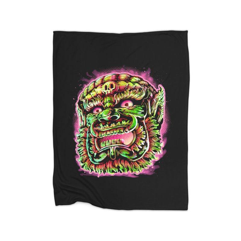 Yak Orc Home Blanket by villainmazk's Artist Shop