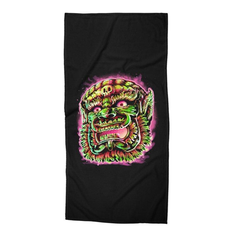 Yak Orc Accessories Beach Towel by villainmazk's Artist Shop