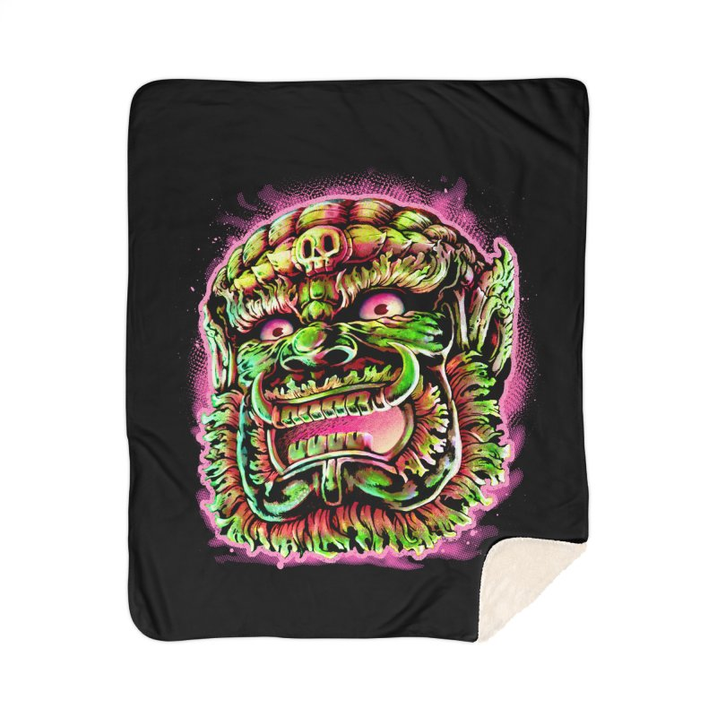 Yak Orc Home Sherpa Blanket Blanket by villainmazk's Artist Shop