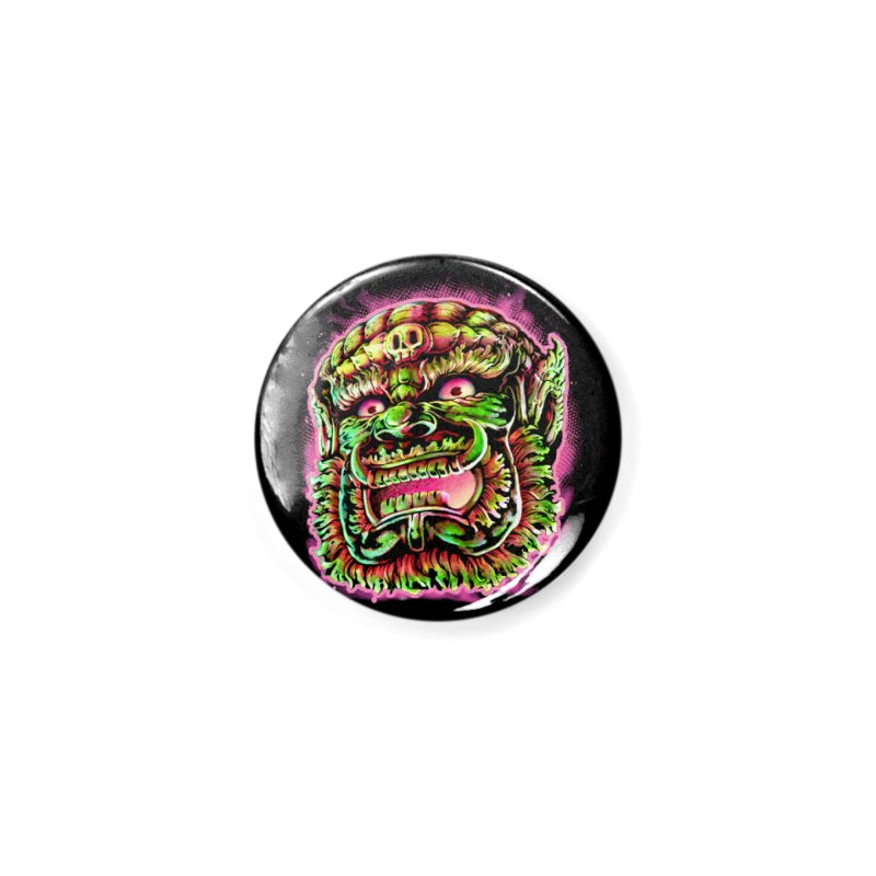 Yak Orc Accessories Button by villainmazk's Artist Shop