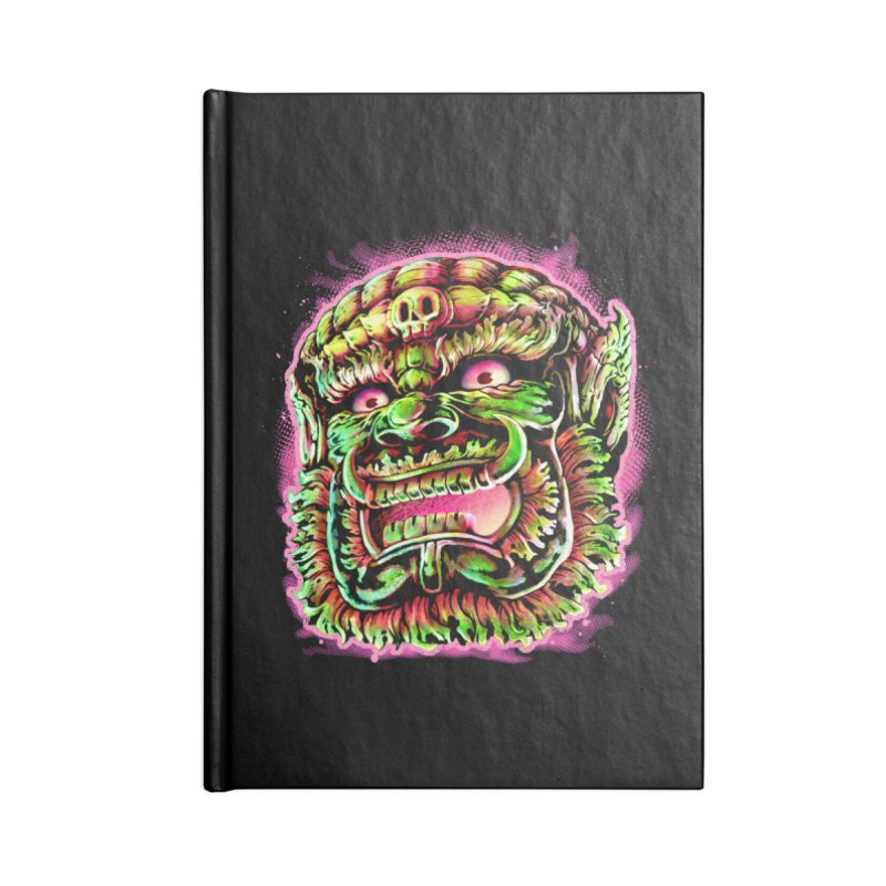 Yak Orc Accessories Lined Journal Notebook by villainmazk's Artist Shop