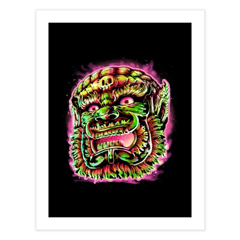 Yak Orc Home Fine Art Print by villainmazk's Artist Shop