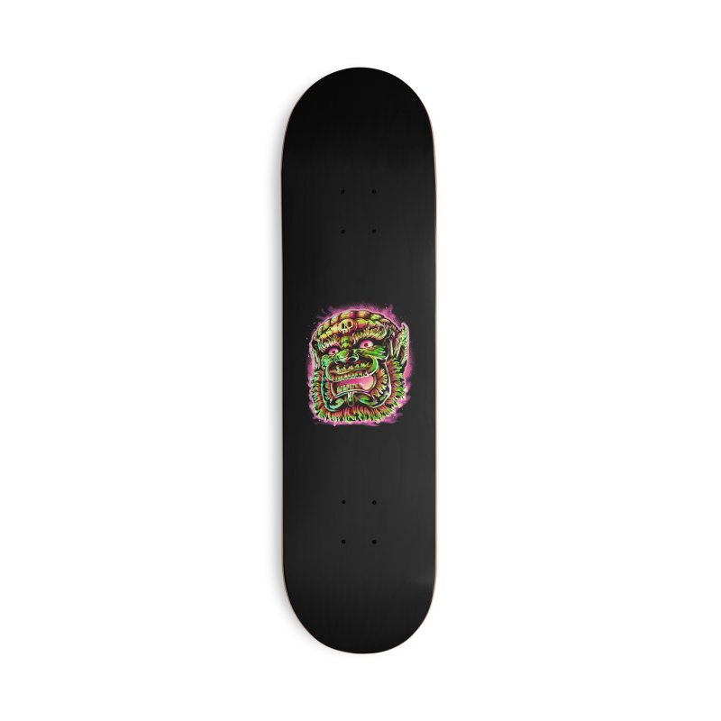 Yak Orc Accessories Deck Only Skateboard by villainmazk's Artist Shop
