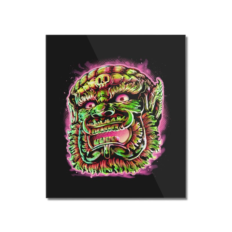 Yak Orc Home Mounted Acrylic Print by villainmazk's Artist Shop