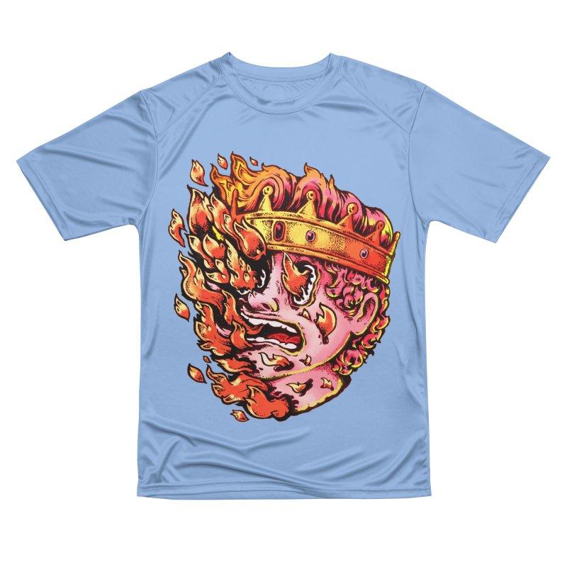Burning King Women's T-Shirt by villainmazk's Artist Shop