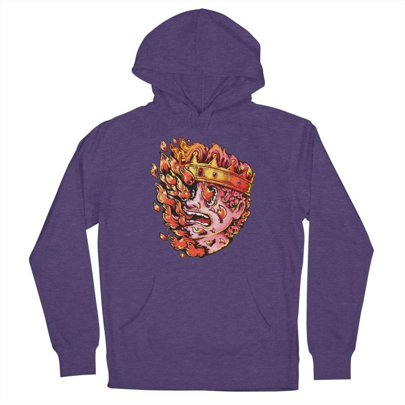 Burning King Women's Pullover Hoody by villainmazk's Artist Shop