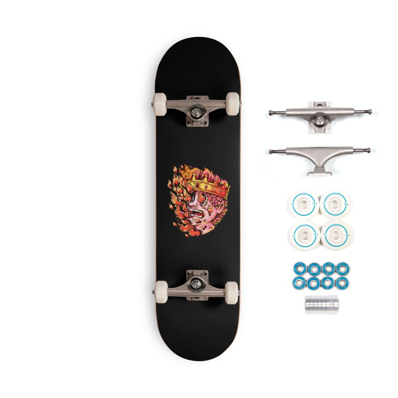 Burning King Accessories Complete - Basic Skateboard by villainmazk's Artist Shop
