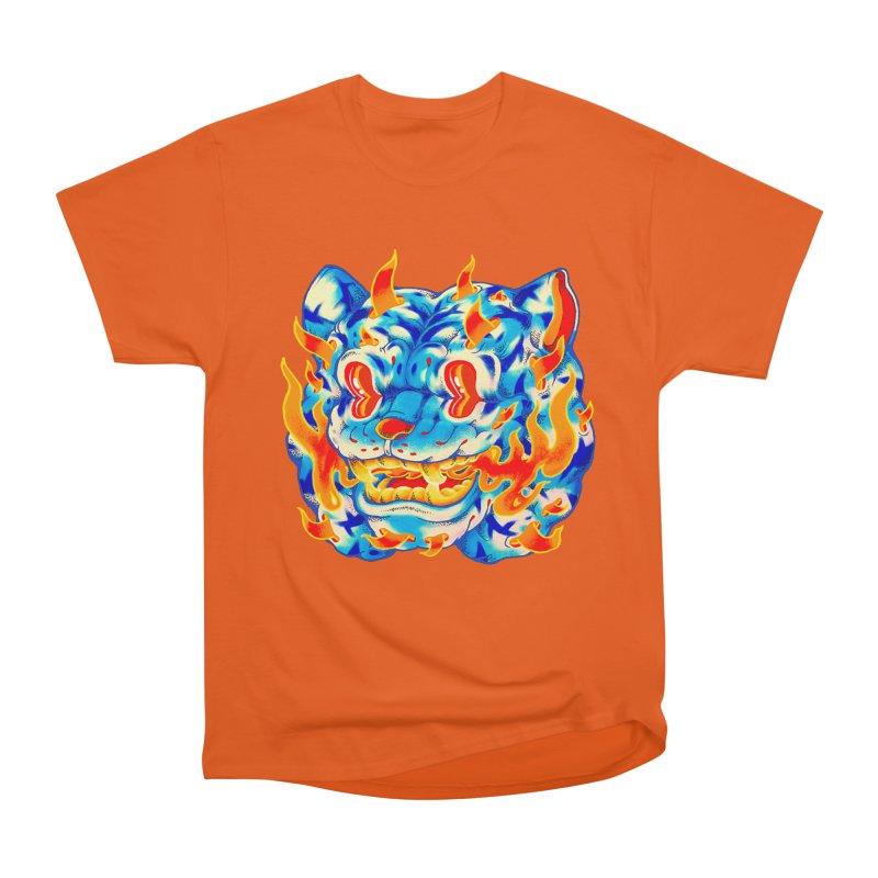 Frost Flame Tiger Women's T-Shirt by villainmazk's Artist Shop