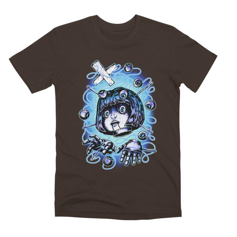 Shadow Puppet Men's Premium T-Shirt by villainmazk's Artist Shop