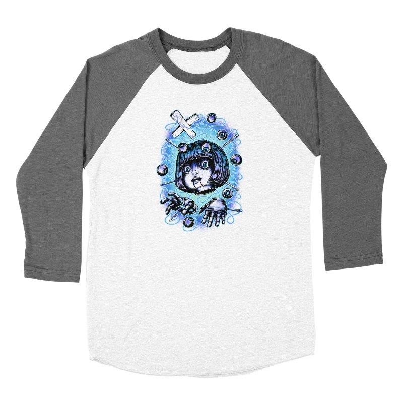 Shadow Puppet Men's Baseball Triblend Longsleeve T-Shirt by villainmazk's Artist Shop