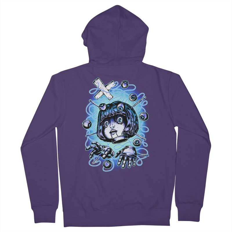 Shadow Puppet Women's French Terry Zip-Up Hoody by villainmazk's Artist Shop