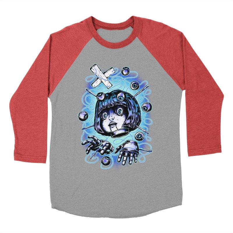 Shadow Puppet Women's Baseball Triblend Longsleeve T-Shirt by villainmazk's Artist Shop