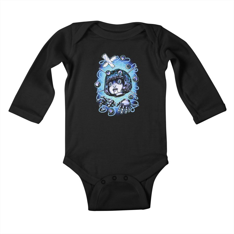 Shadow Puppet Kids Baby Longsleeve Bodysuit by villainmazk's Artist Shop