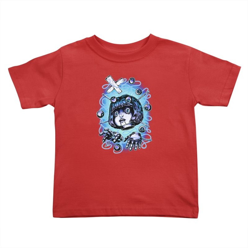 Shadow Puppet Kids Toddler T-Shirt by villainmazk's Artist Shop