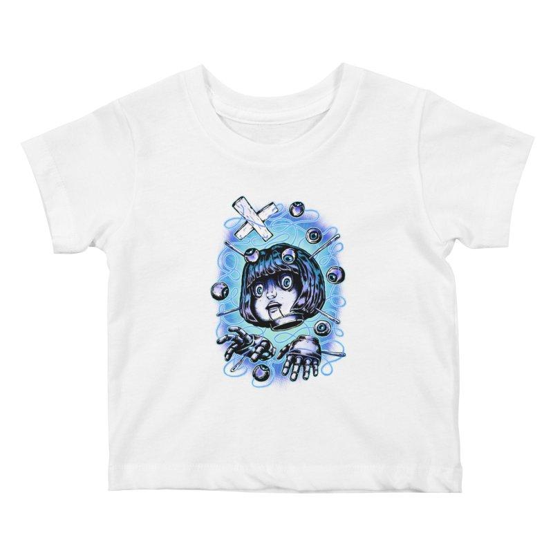 Shadow Puppet Kids Baby T-Shirt by villainmazk's Artist Shop