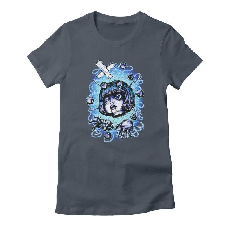 Shadow Puppet Women's T-Shirt by villainmazk's Artist Shop