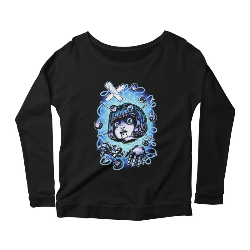 Shadow Puppet Women's Scoop Neck Longsleeve T-Shirt by villainmazk's Artist Shop