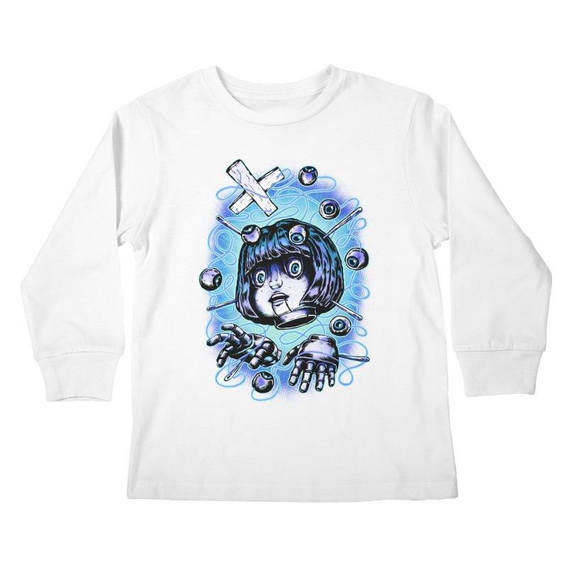 Shadow Puppet Kids Longsleeve T-Shirt by villainmazk's Artist Shop