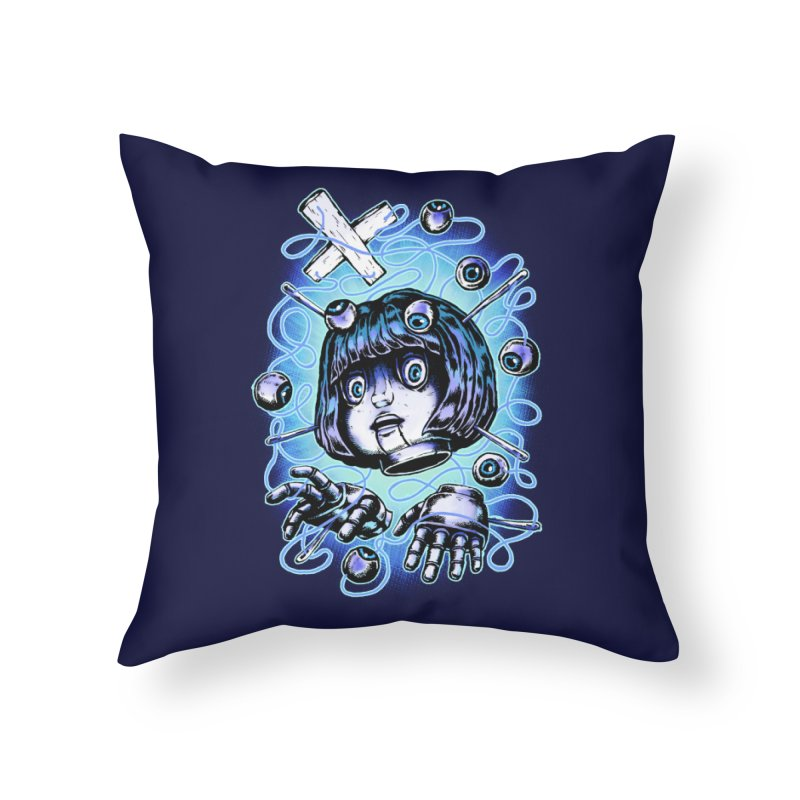 Shadow Puppet Home Throw Pillow by villainmazk's Artist Shop